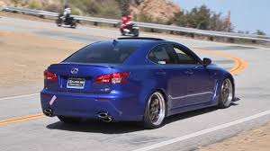 lexus isf turbo turbo lexus is f on mulholland highway