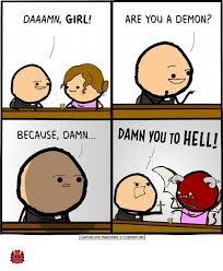 Demon Memes - daaamn girl are you a demon because damn damn you to helli anide