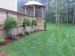deck designs side of house house design
