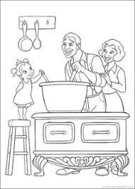 Princess Tiana And The Frog Coloring Pages Princess And Frog Princess And The Frog Sheets