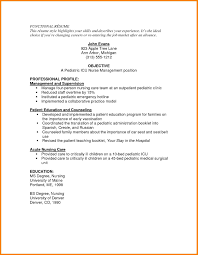 nursing resume model eliolera com