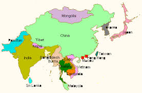 asia map no labels asia map with labels asia map no labels in world showyou me