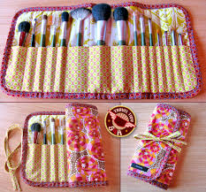 the cutest diy make up brush bag we u0027ve ever seen like the crochet