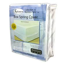 buy mattress safe box spring cover full size for pest control at