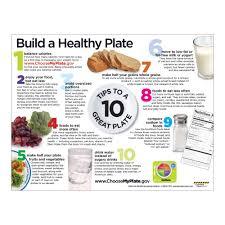 Nutrition Facts Label Worksheet Usda Myplate Handouts Nutrition Handouts For Myplate