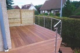 terrasse en bois suspendue nos terrasses en bois exotique