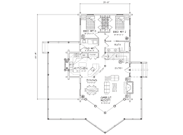 great room floor plans winterpark log home floor plans