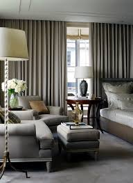 Modern Bedroom Drapes Bedroom Traditional With Seating Area