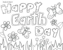 Earth Day Printable Coloring Page For Kids 4 121 Cool Pages Coloring Pages Middle School