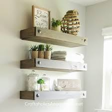 Floating Wooden Shelves by Craftaholics Anonymous Diy Floating Shelves