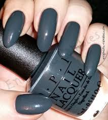 enigmatic rambles swatch opi liv in the gray
