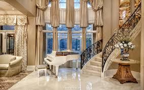 Villa Stairs Design The Villa Belle A Southern Estate Home