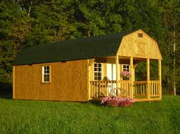 Backyard Cabin by Backyard World Sheds Treated Wood Lofted Cabin