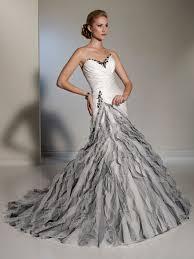 silver wedding dress white silver wedding dress dresscab