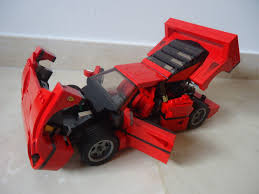 ferrari lego truck brickblog lego ferrari f40 review
