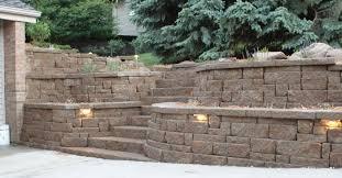 Block Wall Ideas by Bulk Retaining Wall Blocks Baiseyvetot Com