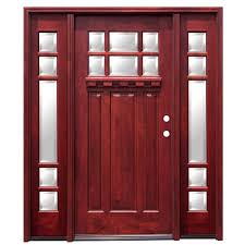 Stained Glass Kitchen Cabinet Doors by Mahogany Front Doors Exterior Doors The Home Depot