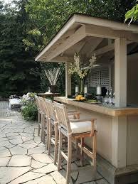 Outdoor Bar Table Outdoor Bar Houzz