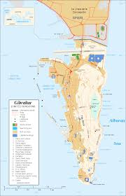 Port Of Spain Map by Gibraltar U2013spain Border Wikipedia
