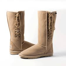 want need sand colour lace up ugg boots adelaide aussie