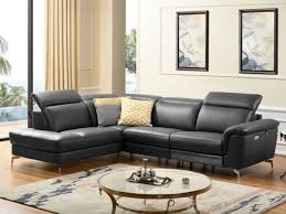 canape angle cuir relax electrique canapé angle relax électrique avec têtières 2 coloris olbia