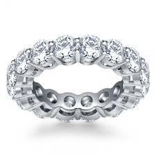 eternity wedding bands 5 00 ct cut diamond eternity wedding band