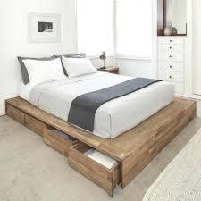 Nomad Bed Frame Low Platform Bed Frames Uforia