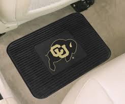 shop colorado buffalo floor mats cu buffs ncaa football
