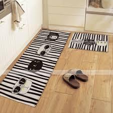 Door Runner Rug Carpet Rug Decoration Black Kitchen Floor Runners Rug Door Mats