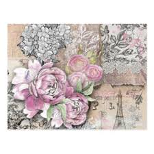 custom paris collage postcards zazzle ca