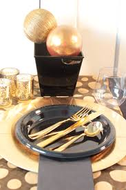 themed party supplies black gold themed party supplies in a box events