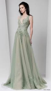 and green wedding dresses tony ward fall 2016 ready to wear dresses wedding inspirasi