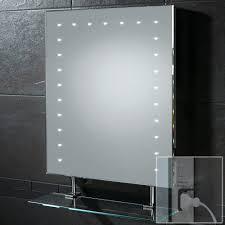 hib atomic double door aluminium cabinet with led overlight