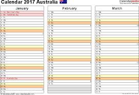 printable 2017 calendar two months per page australia calendar 2017 free printable pdf templates