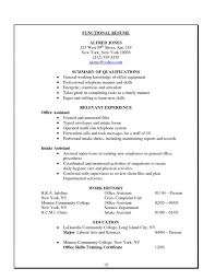 Executive Assistant Functional Resume Free Resume Templates Examples Samples Cv Format For