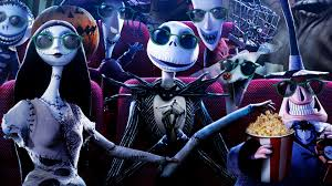 halloween town background the nightmare before christmas wallpapers group 80