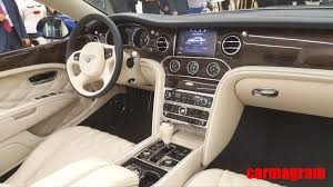 bentley convertible interior ultra exclusive bentley grand convertible by mulliner unveiled