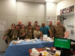 veterans what it s like to be deployed for thanksgiving