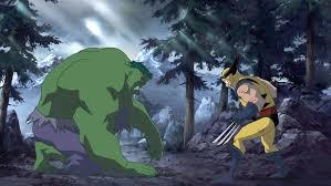 cool storyboard art marvel u0027s hulk wolverine animated film