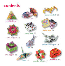 Lotus Blossom Origami - japanese origami kit for tuttle publishing