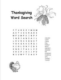 thanksgiving word search worksheets 8 best images of easy thanksgiving word search worksheets free