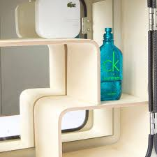 Aldi Bathroom Cabinet Danish Fuel Remodeled Old Jerry Cans Into Stylish Bathroom