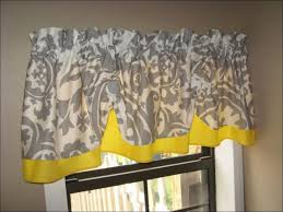 Kitchen Curtains Red by Kitchen Yellow Floral Curtains Short Grey Curtains Grey And