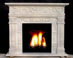 aliexpress com buy marble fireplace mantel surround carved stone