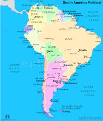 a map of south america south america political map political map of south america