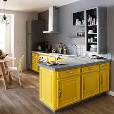 meuble cuisine jaune nos idées faciles et pas chères pour relooker la cuisine