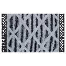 Striped Bathroom Rugs Shining Black And White Striped Bath Rug Entracing Rugs Sales
