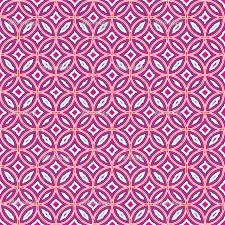 moroccan tile pattern pink blue white orange pretty geometric