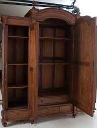Armoire With Mirrored Front 12 Best Bedroom Armoire Images On Pinterest Furniture Storage
