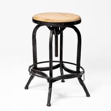 Pottery Barn Bar Stools Decker Leather Seat Barstool Love These Wish They Weren U0027t So